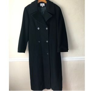 Vintage Gallo Lambswool & Cashmere Trench …